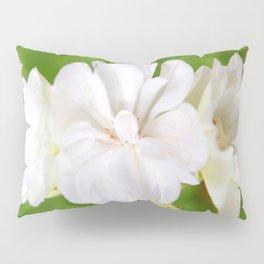 White Flowers | Flower | Floral | Nadia Bonello Pillow Sham