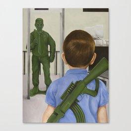 Crisis Averted Canvas Print