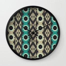 Native simple pattern Wall Clock