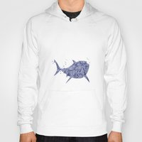 finding nemo Hoodies featuring Finding Nemo Bruce Disneys by Carma Zoe