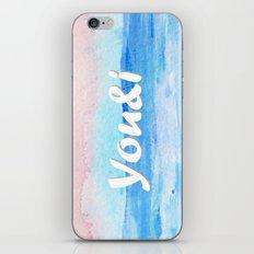 You&i iPhone & iPod Skin