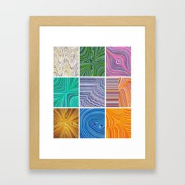 Electric Field Art Framed Art Print