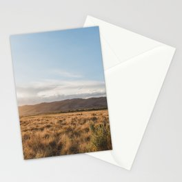 Great Sand Dunes Sunset Stationery Cards