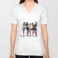 fifth harmony V-neck T-shirts featuring fifth harmony best design home decoration ideas by customgift