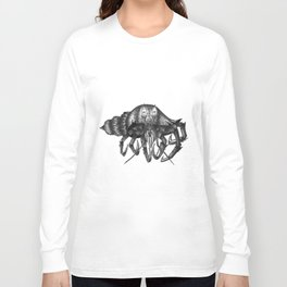 Steampunk angry crab Long Sleeve T-shirt