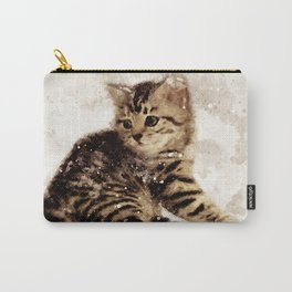 Cute little kitten Carry-All Pouch