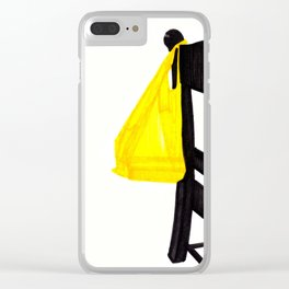 Golden Touch Clear iPhone Case