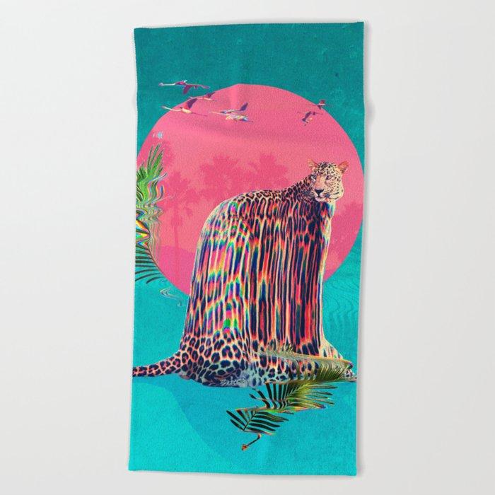 Jaguar Beach Towel