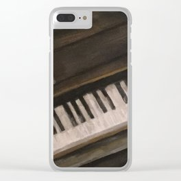 12 Bars Clear iPhone Case