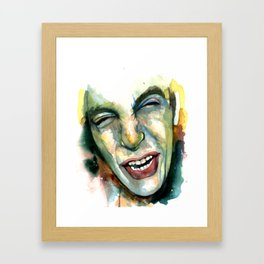 GNARLY! Framed Art Print
