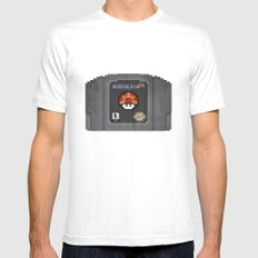 Nostalgia in a Nintendo 64 Cartridge Mens Fitted Tee White SMALL