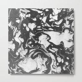 Suminagashi Series (Jinye) 津液 Metal Print