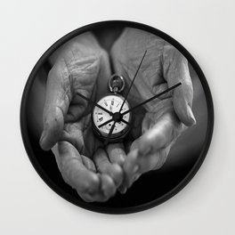 Il tempo è nelle nostre mani/ Time is in our hands Wall Clock