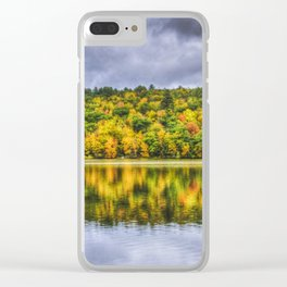 Autumn Water Clear iPhone Case