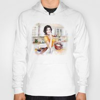 cook Hoodies featuring cook by tatiana-teni
