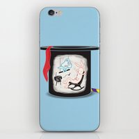 holiday iPhone & iPod Skins featuring Holiday by Matisse Lin