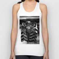 games Tank Tops featuring Head Games by Jaz Henry