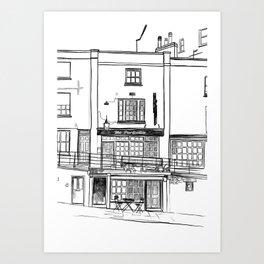 The Portcullis, Clifton Art Print