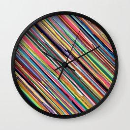 Color Holiday Wall Clock