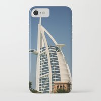 arab iPhone & iPod Cases featuring Dubai - Burj Al Arab by gdesai