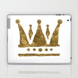 Golden Crown Laptop & iPad Skin