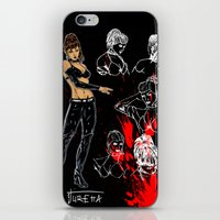 avenger iPhone & iPod Skins featuring Avenger Mother by Alessandro Turetta