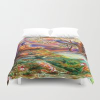 zen Duvet Covers featuring Zen by Kat Miles