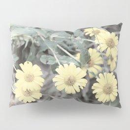 Yellow Pastel Wildflowers II Pillow Sham