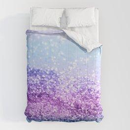 Unicorn Girls Glitter #14 #shiny #decor #art #society6 Comforters
