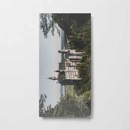 Neuschwanstein fairytale Castle - Landscape Photography Metal Print