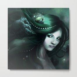 Daughter of the sea Metal Print