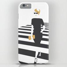 Zebra walk iPhone 6 Plus Slim Case