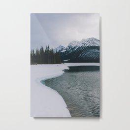 Spray Lakes, Canmore VI Metal Print