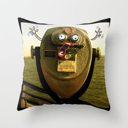 25 cents please Throw Pillow