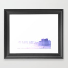 Ghost city Framed Art Print