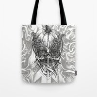fifth element Tote Bags featuring element by hueroth