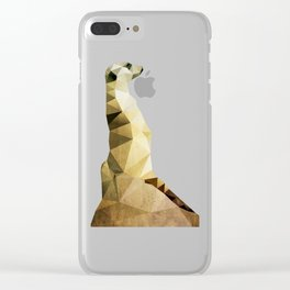 The Meerkat Clear iPhone Case