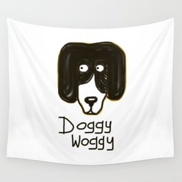 Doggy Woggy Wall Tapestry