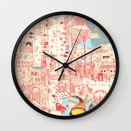 Stranger Wall Clock