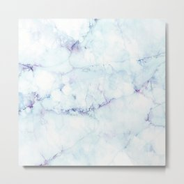 cracked marble Metal Print