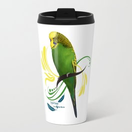 English Budgie Travel Mug