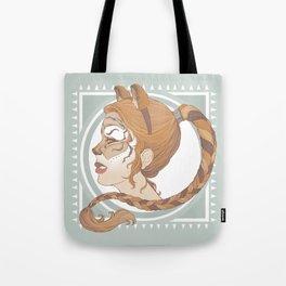 a real tiger Tote Bag