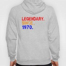 50th Birthday , Legendary Since 1970 Vintage , Born In 1970 , 50th Birthday Gift 1970 Hoody