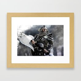 The Viking Framed Art Print