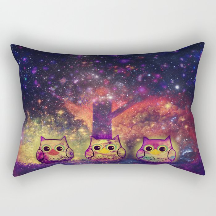 owl space-218 Rectangular Pillow