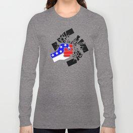 Obliterate Hate USA (women) Long Sleeve T-shirt
