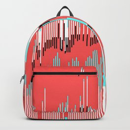 abstract bits Backpack