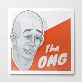 The OMG Metal Print