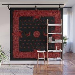 Black and Red Hobgoblin Bandana Wall Mural