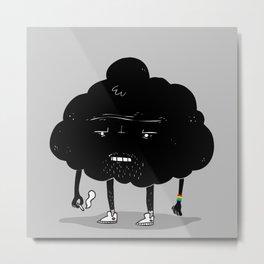 Mr. Optimistic Metal Print